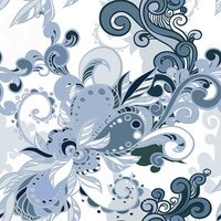 Floral seamless background pattern wallpaper