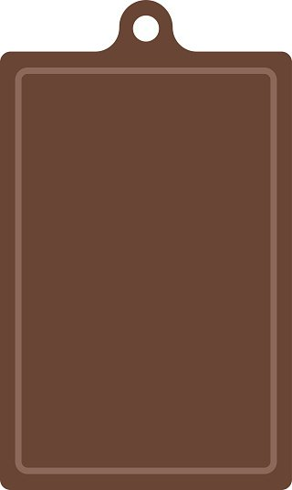 Wooden antiseptic cutting board brown texture cooking surface plank kitchen