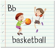 Letter B is for basketball