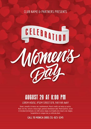 Celebration of Womens Day Poster