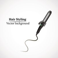 abstract hair styling