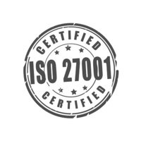 ISO 27001 Certified Stamp