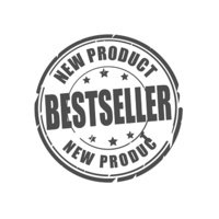 Bestseller, new product stamp