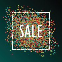 Festive sale background