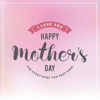 Mother's Day Badges and Labels Design