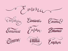 Personal name Emma