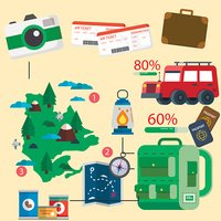 Travel information graphics