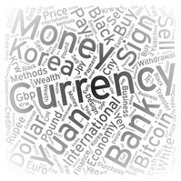 Currency ,Word cloud art background