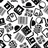 Ecommerce and online shopping seamless pattern