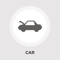 Car Vector Flat Icon