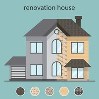 Concept renovation illustrations