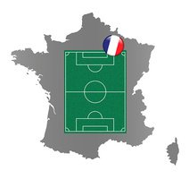 Soccer field - France