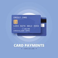 Card payments illustration.
