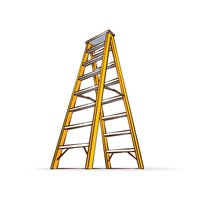 Yellow Double Ladder