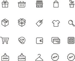 Outline Education Icons