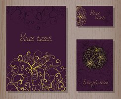 Greeting Card,template,Orna...