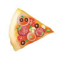 Piece of pizza for ypur design