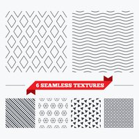 Rhombus stripped seamless pattern.