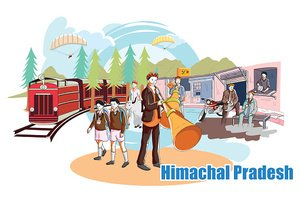 People and Culture of Himachal Pradesh, India