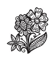 Vector of Abstract floral