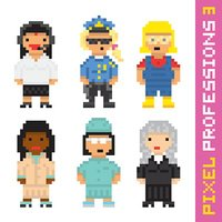 Courthouse,Pixelated,Cute,D...