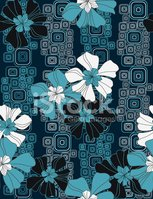 Pattern,Seamless,Flower,Haw...