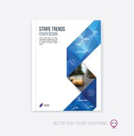 Brochure template layout, cover design, annual report, magazine,