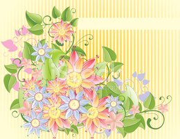 Ornate,Flower,Vector,Decora...