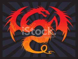 Dragon,Phoenix - Mythical B...