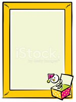 Jack-in-the-Box,Toy,Frame,B...