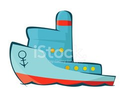 Nautical Vessel,Cartoon,Pas...