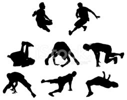 Motion,Hip Hop,Silhouette,C...