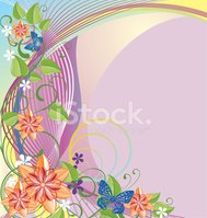Floral Pattern,Flower,Purpl...