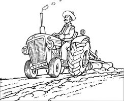 Farmer,Tractor,Agriculture,...