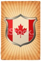 Canadian Flag,Shield,Insign...
