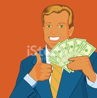 Thumbs Up,Businessman,Curre...