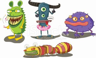Monster,Alien,Fun,Vector,Ho...