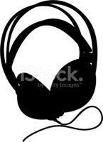 Headphones,Silhouette,Music...
