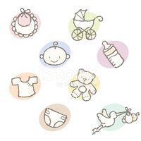 Baby,Cartoon,Icon Set,Toy,G...