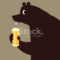 Bear,Beer - Alcohol,Drinkin...