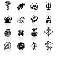Black Symbols Voodoo stock vectors - Clipart me