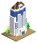 Built Structure,Isometric,B...