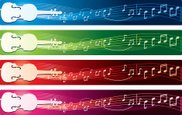 Violin,Musical Note,Banner,...