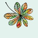 Leaf,Autumn,Abstract,Patter...