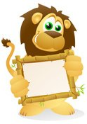 Lion - Feline,Cartoon,Anima...