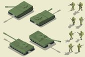 Armed Forces,Isometric,Armo...
