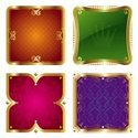 Nobility,Banner,Gold Colored,…