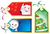 Gift Tag,Christmas,Label,Ch...
