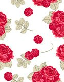 Rose - Flower,Seamless,Patt...