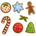 Cookie,Christmas,Candy Cane...